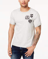 Buffalo David Bitton Men's Embroidered Patch T-Shirt