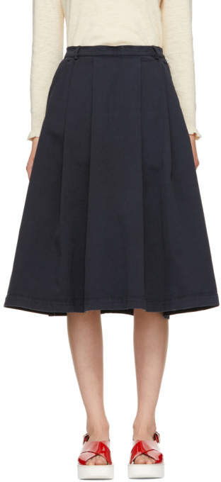 YMC Navy Sheila Skirt
