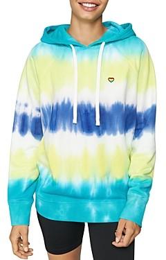 Spiritual Gangster Happiness Tie-Dye Hooded Sweatshirt