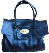 Mulberry Black Leather Handbag Bayswater