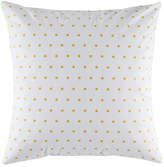 Kas Squares Mustard Euro Pillowcase