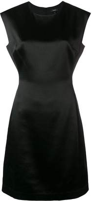Theory Fitted Midi Dress