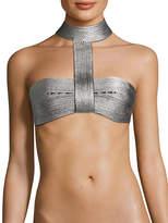 La Perla Women's Halter Band Underwire Bikini Top