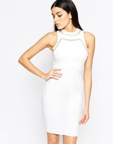 Lipsy Body-Conscious Dress with Chain Trim
