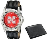 "Game Time Men's COL-WWS-NEB ""Watch & Wallet"" Watch - Nebraska"