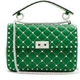 Valentino Free Rockstud Spike quilted-leather shoulder bag