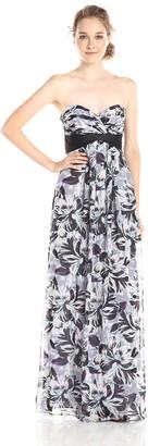 BCBGMAXAZRIA Azria Women's Kai Printed Maxi Dress