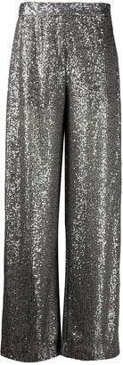 Just Cavalli Wide-Leg Flared Trousers