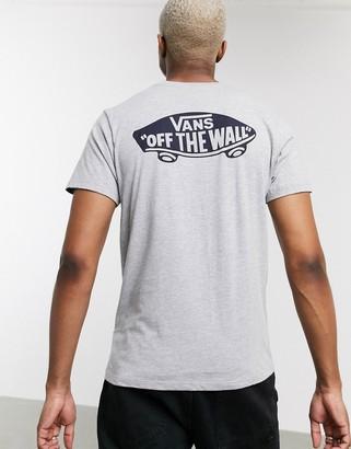 Vans Otw Classic t-shirt in athletic heather/blue