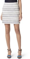 Tommy Hilfiger Final Sale- Printed Textured Skirt