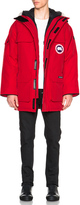 Canada Goose Expedition Parka in Red.