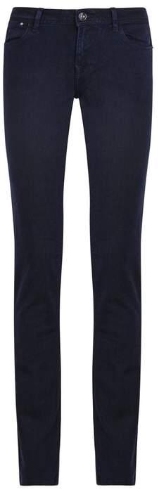 DL1961 Coco Curvy Dark Blue Slim Straight-leg Jeans