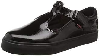 Kickers Girls' Tovni T Youth Low-Top Sneakers, (Black), 6 UK 39 EU