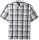 Dickies Men's Big and Tall Yarn Dyed Short Sleeve Camp Shirt