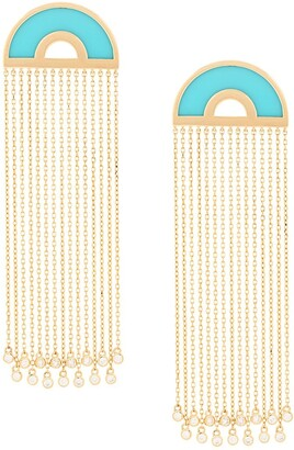Nevernot Embellished Drop Earrings