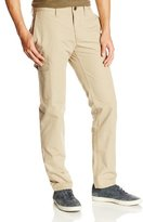 Haggar Men's LK Life Khaki Slim Taper-Fit Flat-Front Canvas Cargo Pant