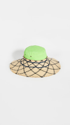 Rosie Assoulin Fringed Hybrid Hat