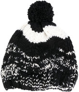 Missoni mélange beanie with pom pom