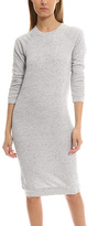 Monrow Raglan Sweatshirt Dress