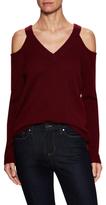 Cashmere Cold Shoulder Sweater
