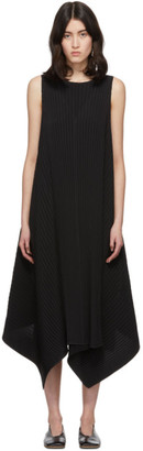 Issey Miyake Black Cuddle Pleats Dress