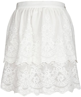 Jiri Kalfar White Bohemian Skirt
