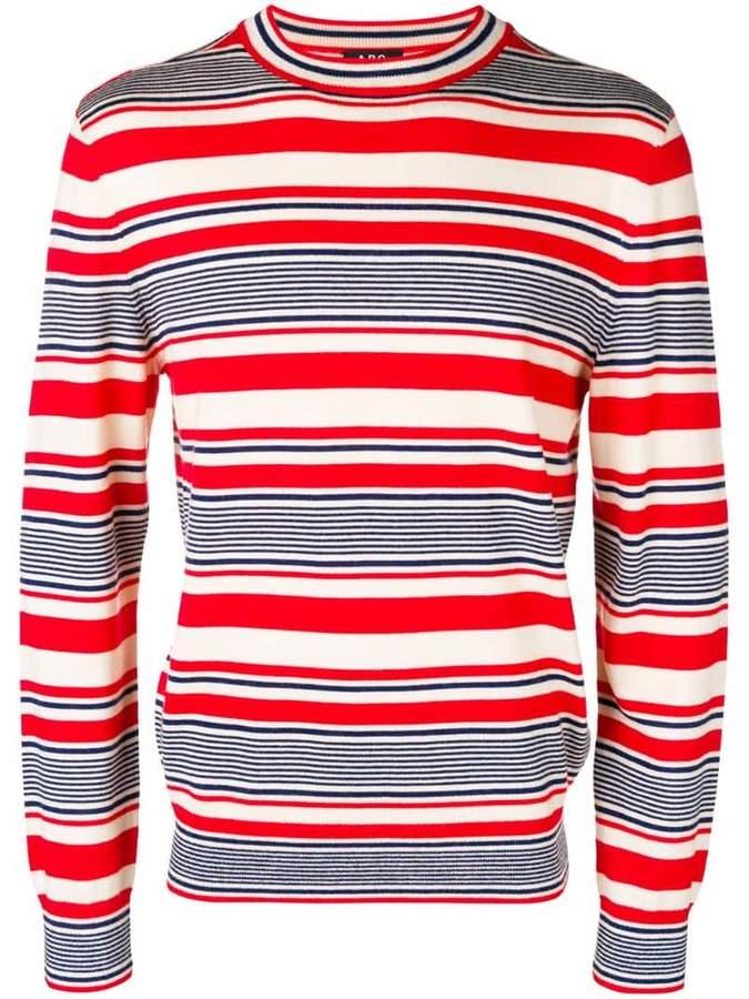 A.P.C. horizontal stripe jumper