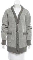 Sea Alpaca-Blend Sweater Cardigan w/ Tags