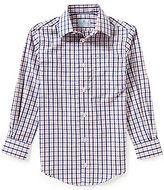 Class Club Big Boys 8-20 Mini Check Poplin Sportshirt