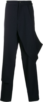 Chalayan deconstructed trousers