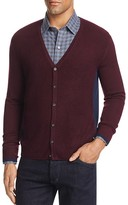 Zachary Prell Merino Wool Color-Block Cardigan Sweater