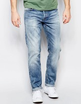 ONLY & SONS Mid Wash Straight Fit Jeans