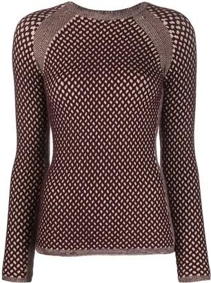 Victoria Victoria Beckham Textured-Knit Jumper
