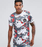 Hype T-shirt In White With Digi Camo