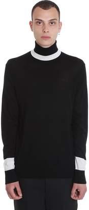 Neil Barrett Knitwear In Black Wool