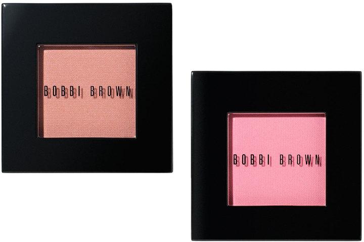 Bobbi Brown Blush in Nude Peach and Nude Pink