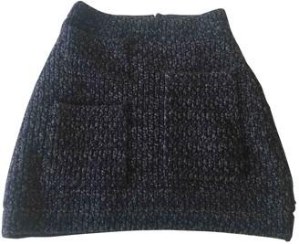 Sonia Rykiel Sonia By Navy Wool Skirt for Women