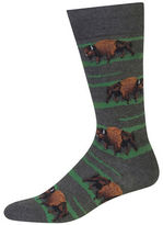 Hot Sox Buffalo Graphic Socks