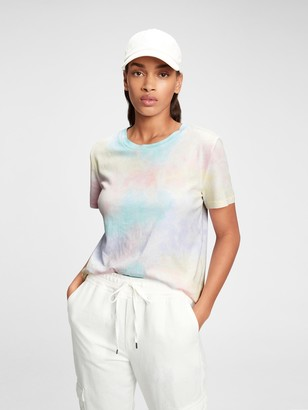 Gap 100% Organic Cotton Vintage Tie-Dye T-Shirt