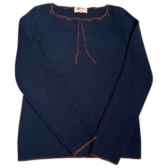 A.P.C. Madras By Navy Wool Knitwear for Women
