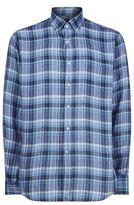 Paul & Shark Tonal Check Linen Shirt