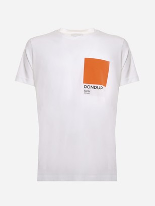 Dondup Cotton Jersey T-shirt With Pantone Print