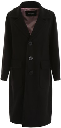 DSQUARED2 Single Breasted Long Coat