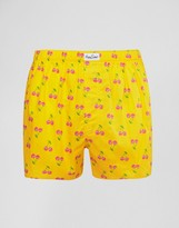 Happy Socks Woven Boxers Cherry Print