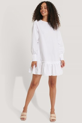 Josefin Ekström For NA-KD Frilled A-Line Tunic