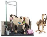 Schleich NEW Horse Wash Area Playset