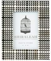 Shiraleah Loft Geometric Print Frame