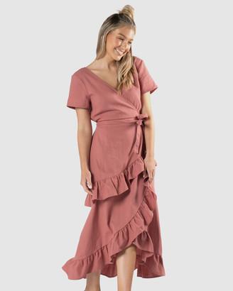 Sass Hilda Ruffle Dress