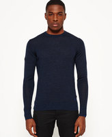 Superdry Shadow Stripe Crew Neck Sweater