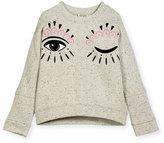 Kenzo Marbled Eye Sweater, Size 4-6